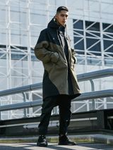 "George Hanbury tvätta mode  adidas Originals & GORE-TEX Debut ""Shark Fin"" Jacket & Pants"