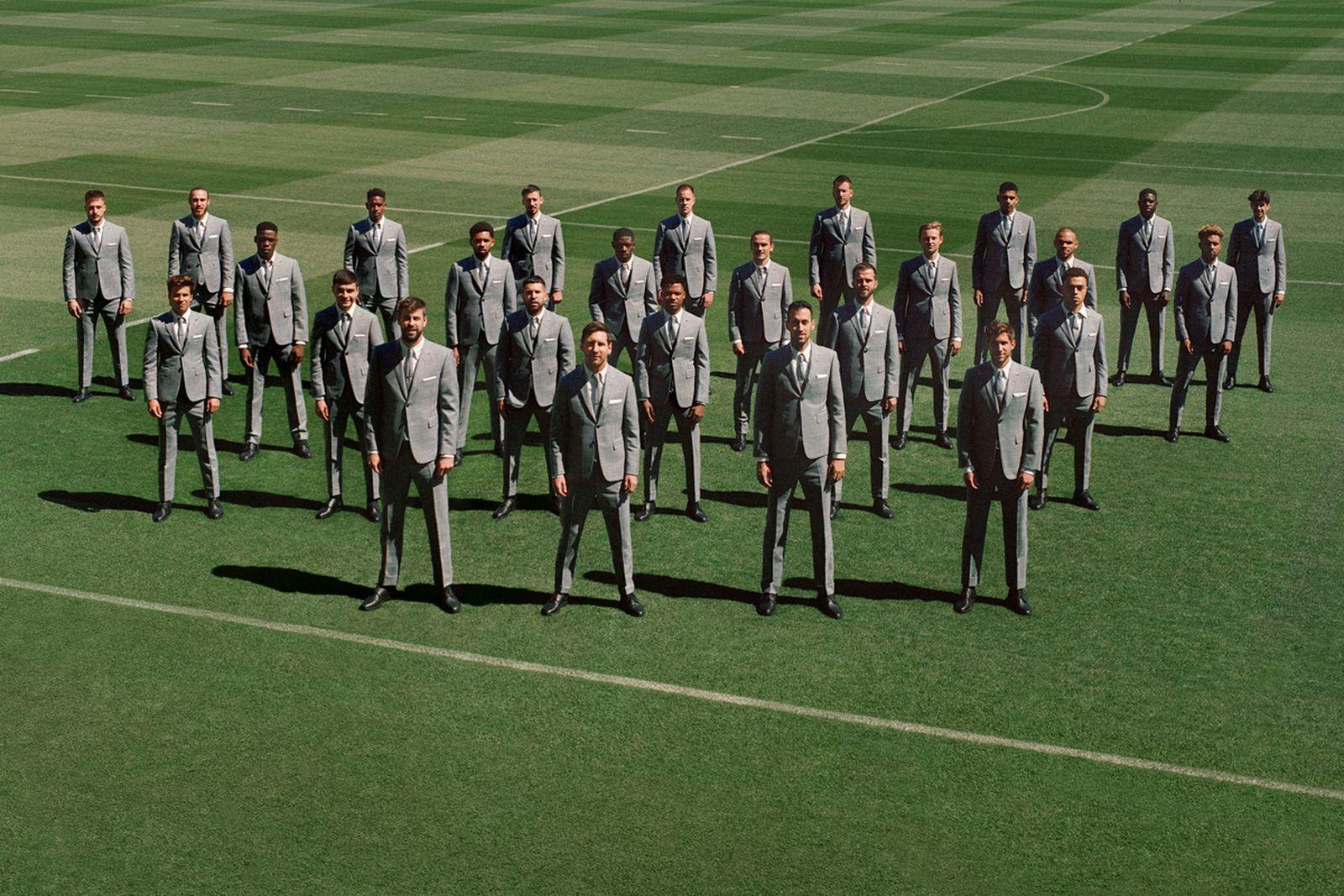 FC Barcelona thom browne summer 2021 campaign (1)