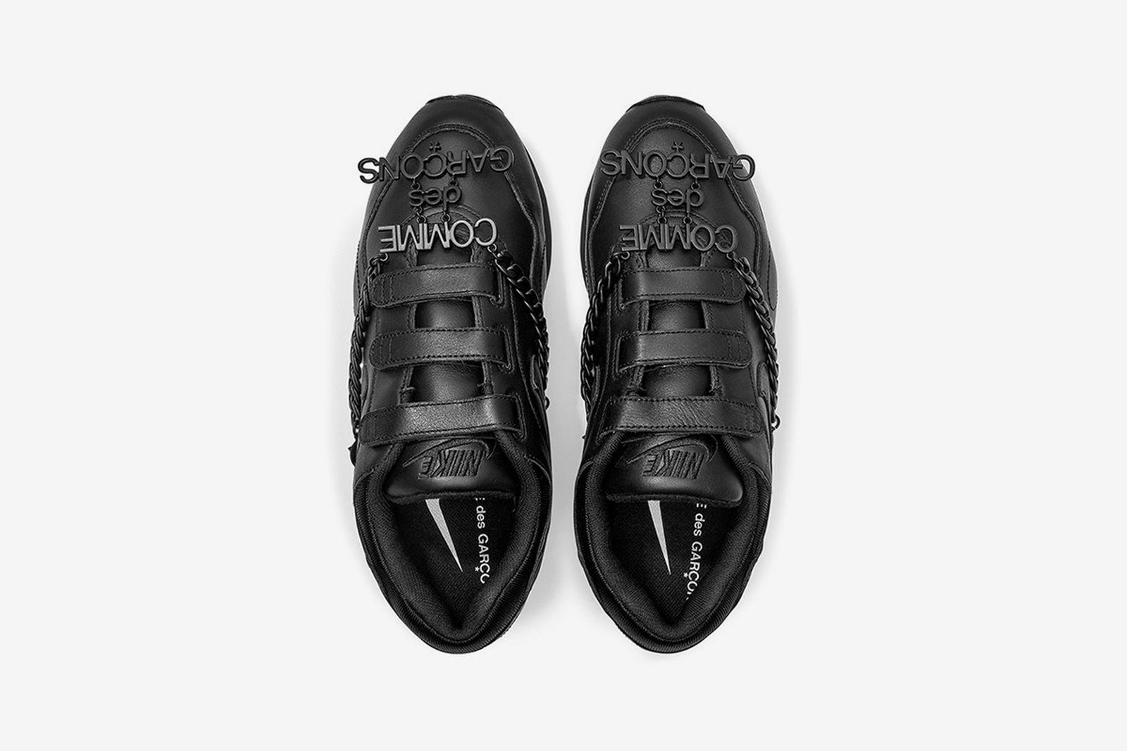 COMME des GARÇONS Nike Outburst black Velcro sneaker