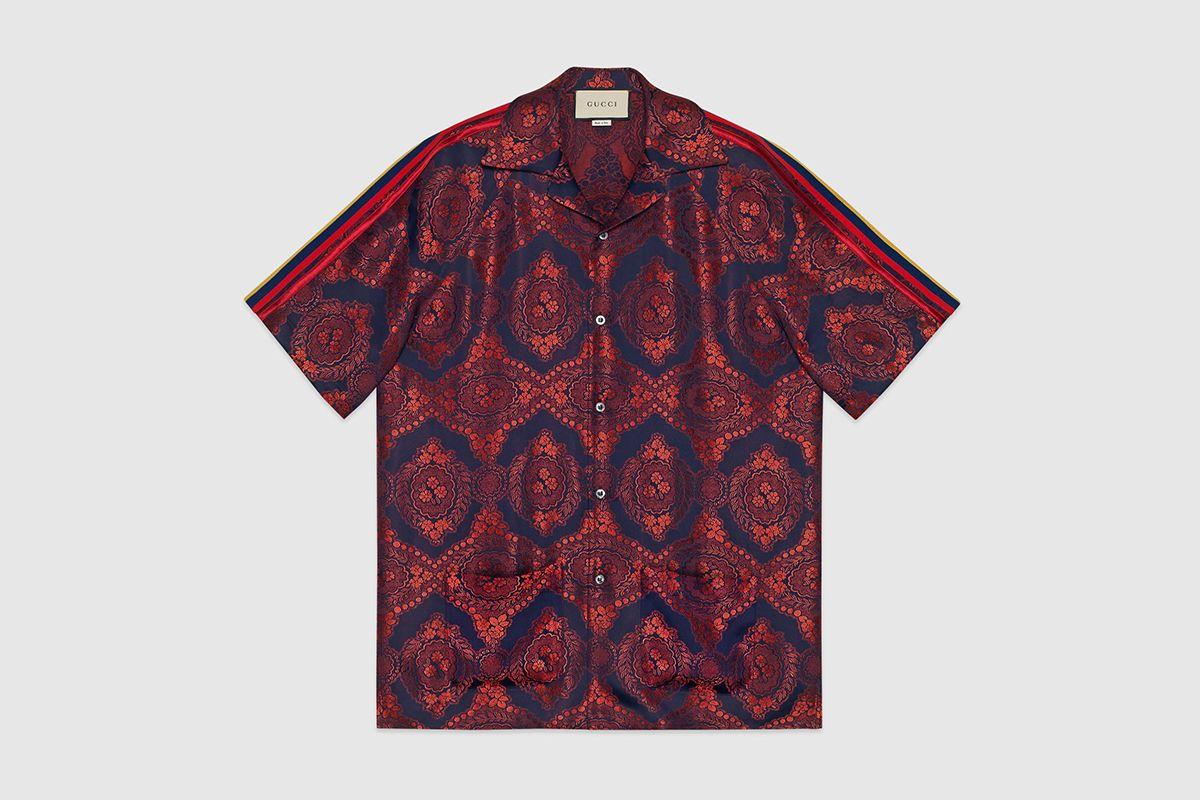 Baroque Jacquard Bowling Shirt