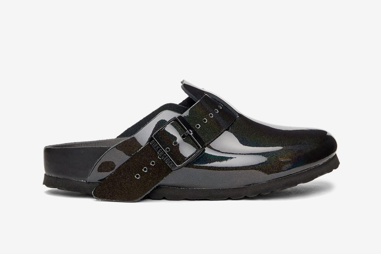 Iridescent Boston Sandal