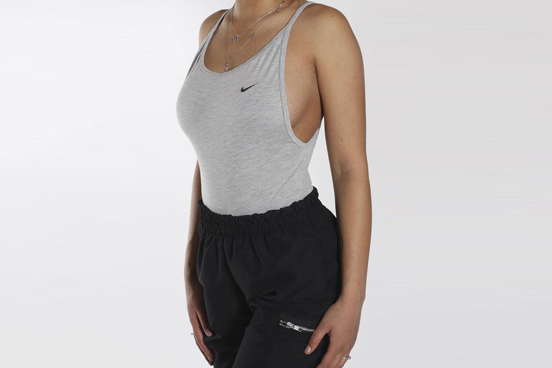Reworked Nike Backless Bodysuit