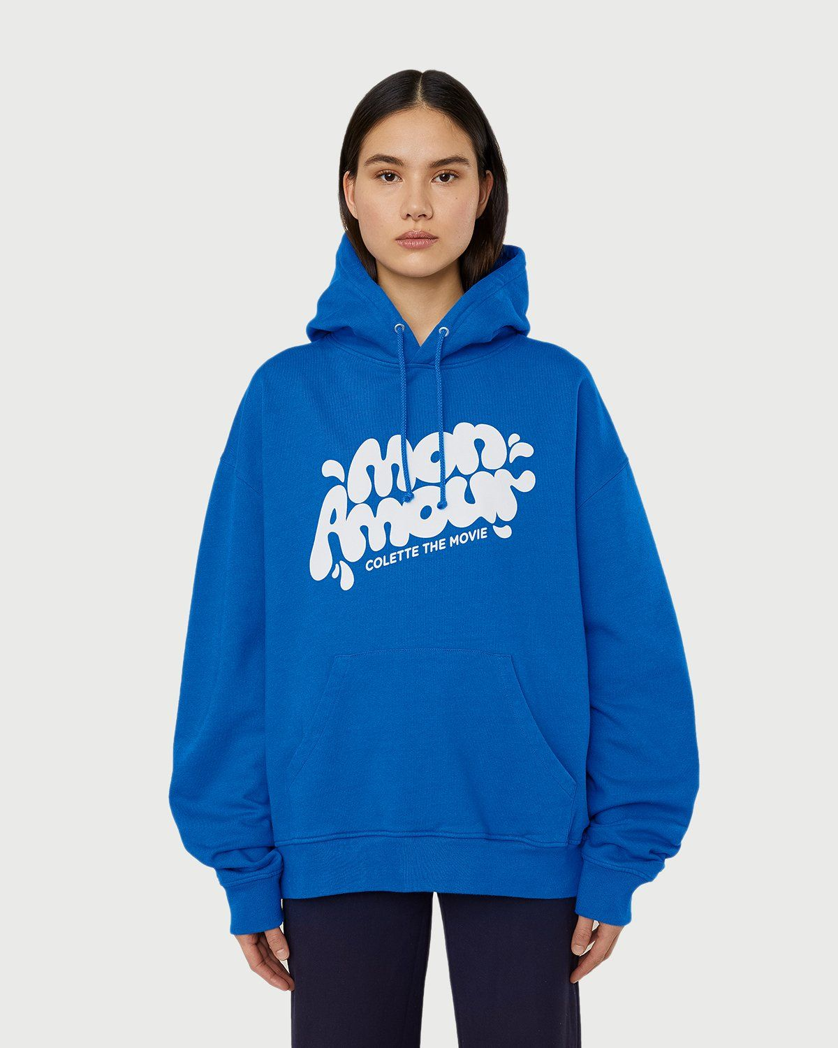 Colette Mon Amour — Water Bar Hoodie Blue - Image 3