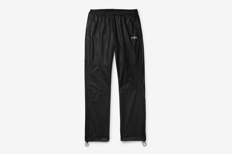 Logo-Print Textured-Nylon Track Pants