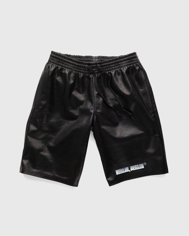 Highsnobiety x Butcherei Lindinger – Shorts Black - Image 1