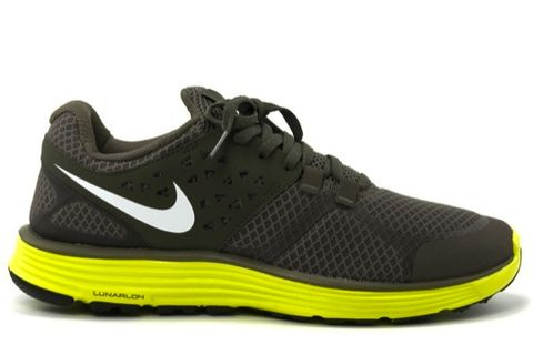 premium selection 0633f 9d584 A new Nike Lunarswift+ 3 in a nice Army Volt color has just hit retailers.  The upper is an almost entirely army green color, minus the white swoosh,  ...