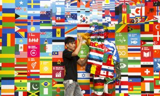 Liu Bolin Fights for the Future Through Art