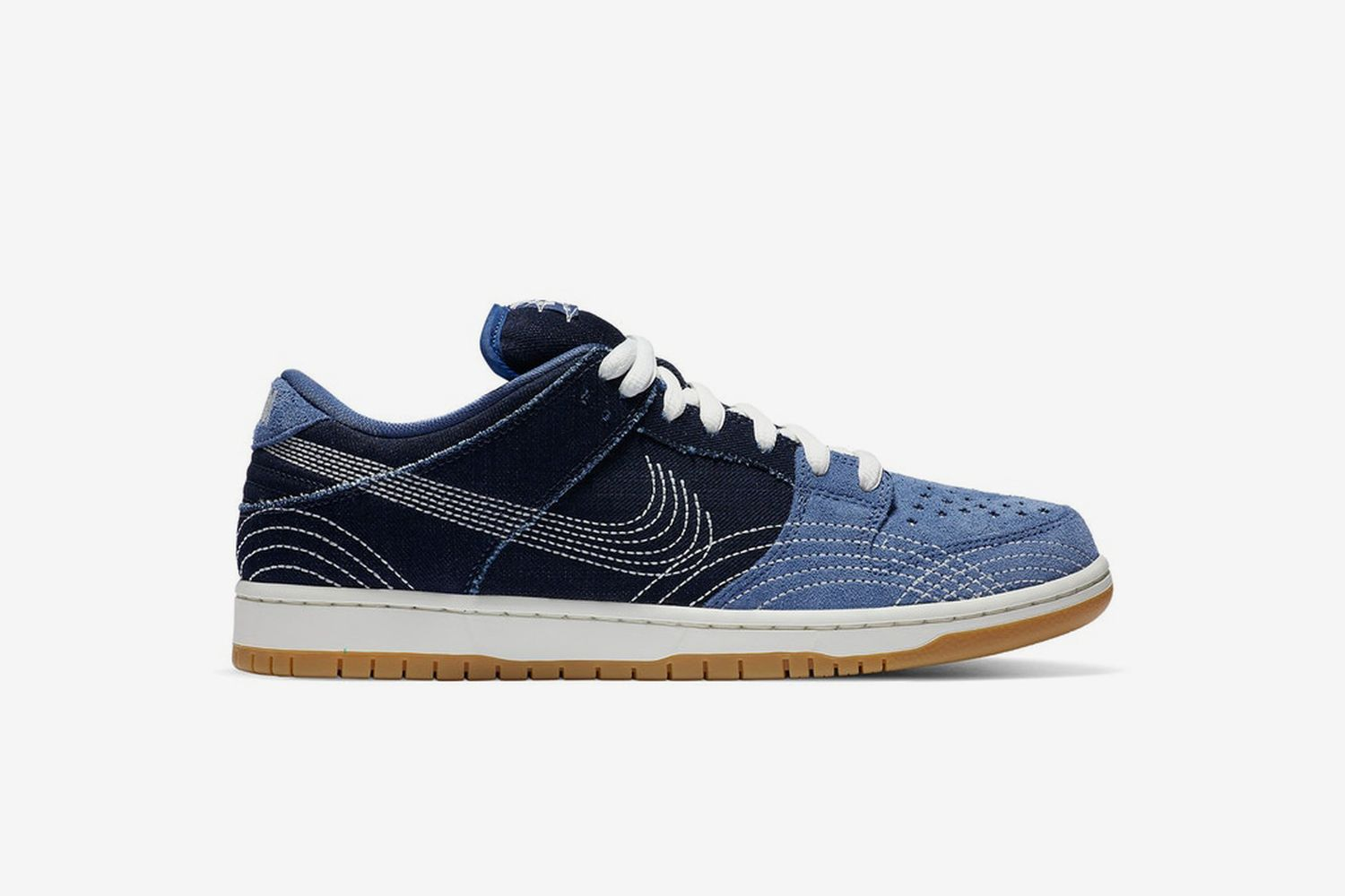SB Dunk Low Denim Sashiko