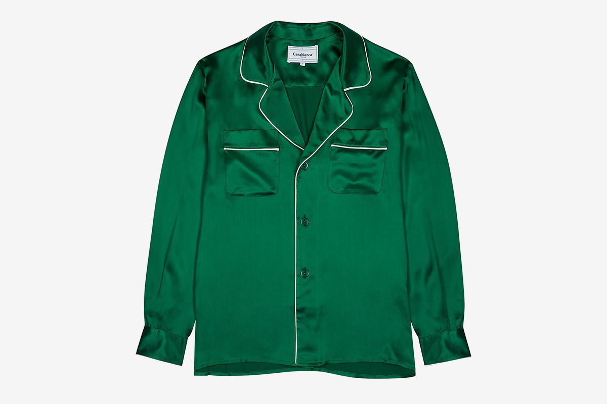 Affiliate Marketing Soirée Silk Shirt