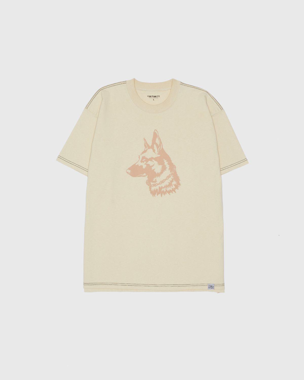 Carhartt WIP x Ljubav —  Nebraska T-Shirt Black - Image 1