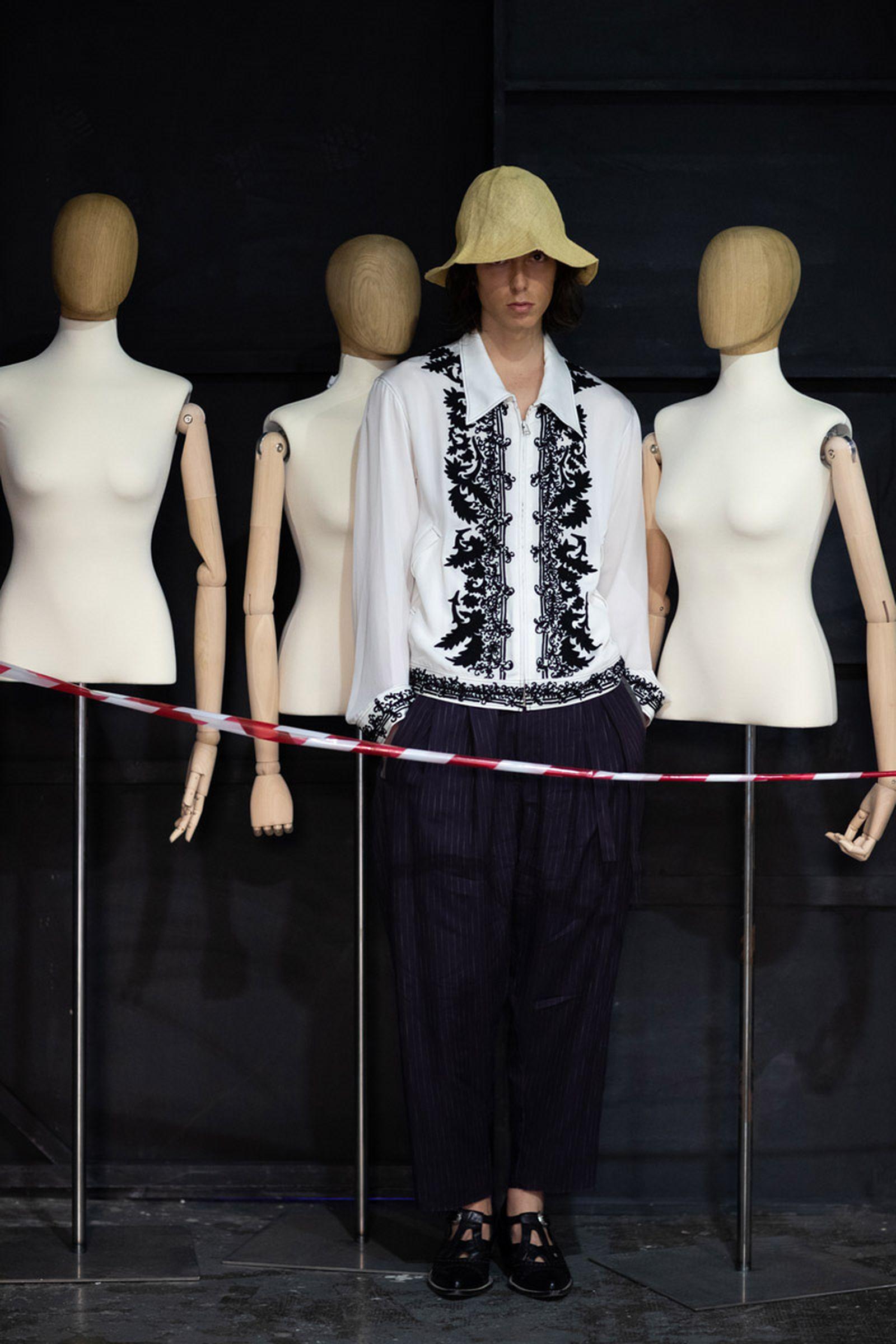 bed j w ford ss20 bed j.w. ford mfw milan fashion week