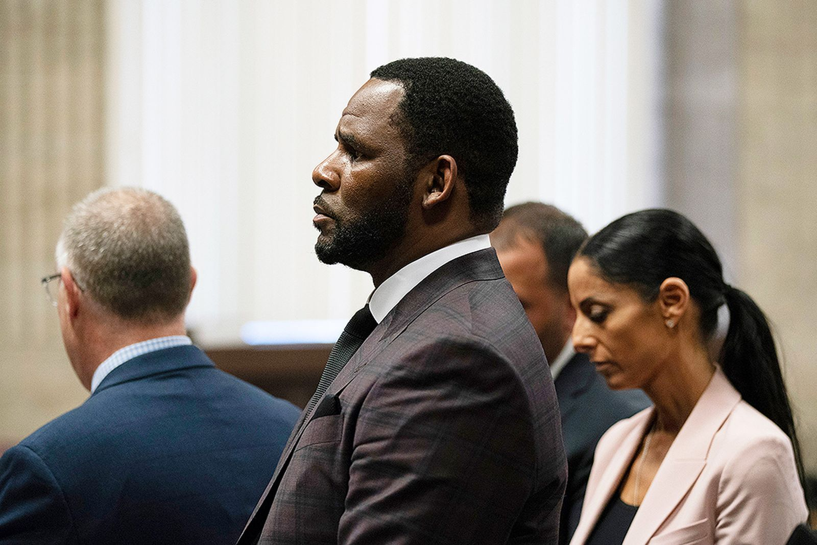 R. Kelly appears in court in Chicago