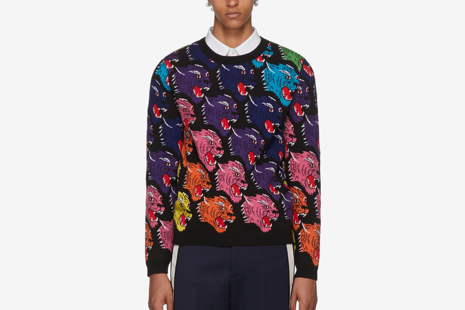 Panther Face Sweater