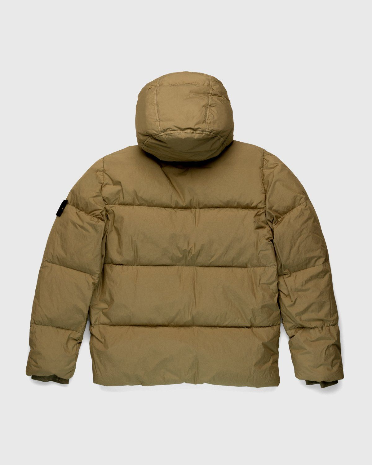 Stone Island – Real Down Jacket Natural Beige - Image 2
