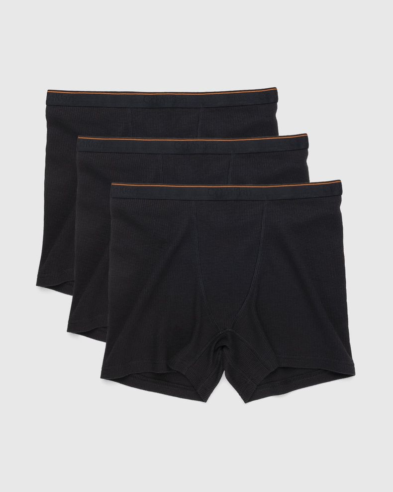 Heron Preston for Calvin Klein - Mens Boxer Brief 3 Pack Black
