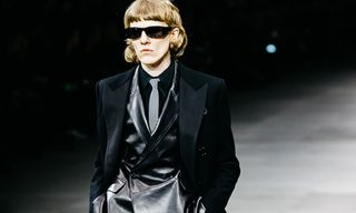 Celine's First Menswear Show Proves Nobody Cuts a Silhouette Quite Like Hedi Slimane