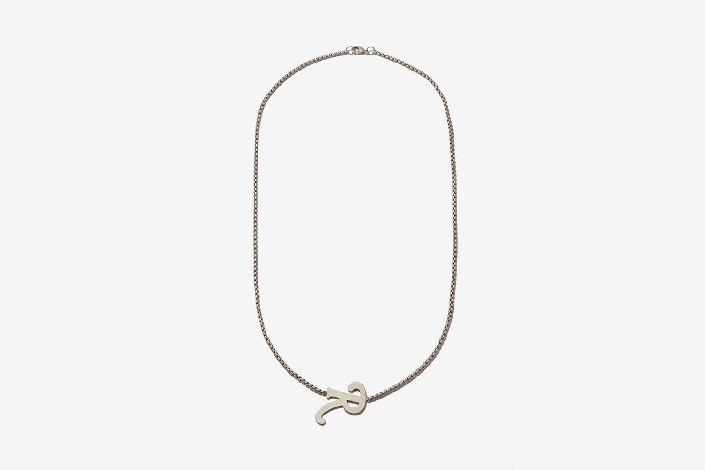 R-Pendant Necklace