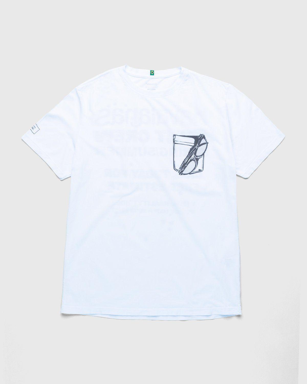 Havaianas x Reality to Idea by Joshuas Vides – T-Shirt White - Image 1