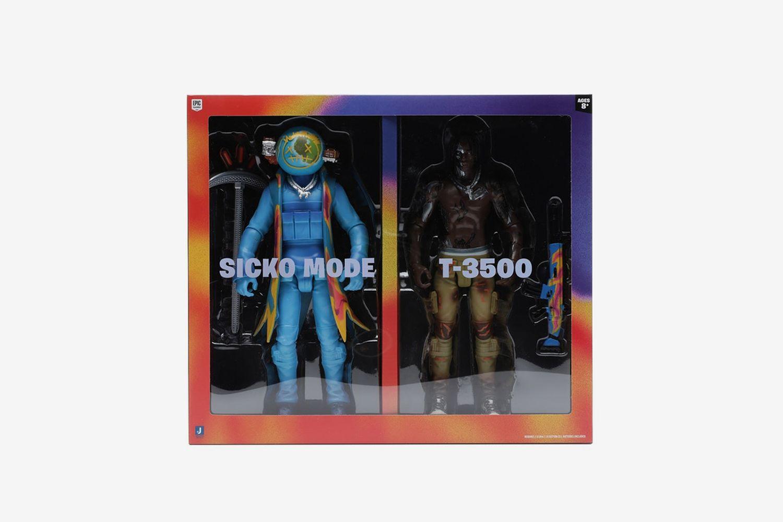 "Cactus Jack Fortnite 12"" Action Figure Duo Set"