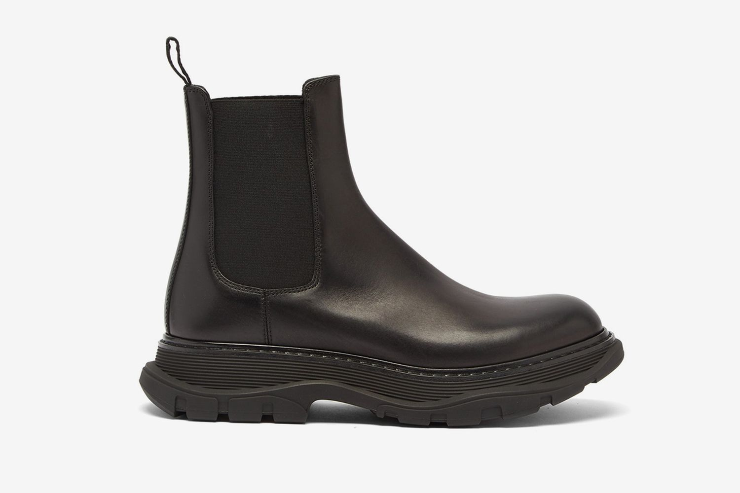 Raised-Sole Chelsea Boots