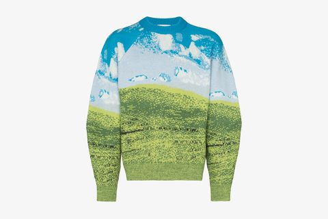 Countryside Intarsia Wool Sweater