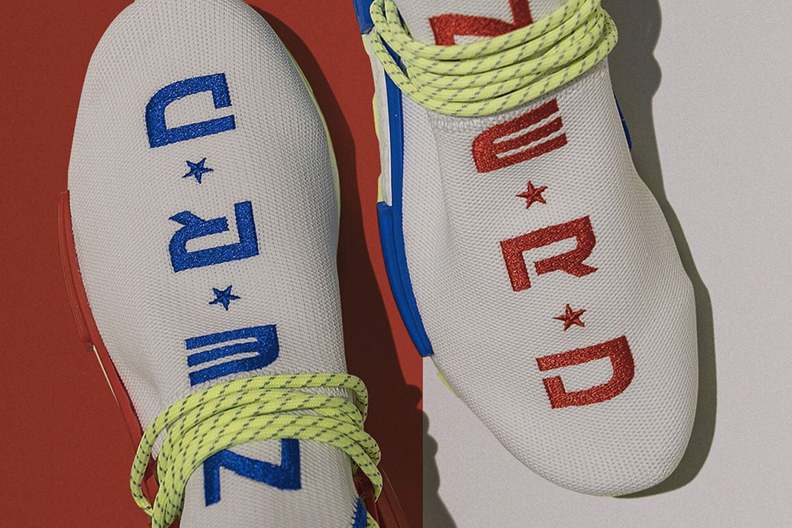 Patois Obbedienza pianista  Creme x N.E.R.D x adidas Hu NMD: Release Date, Price & More