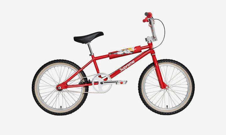 red supreme box bike