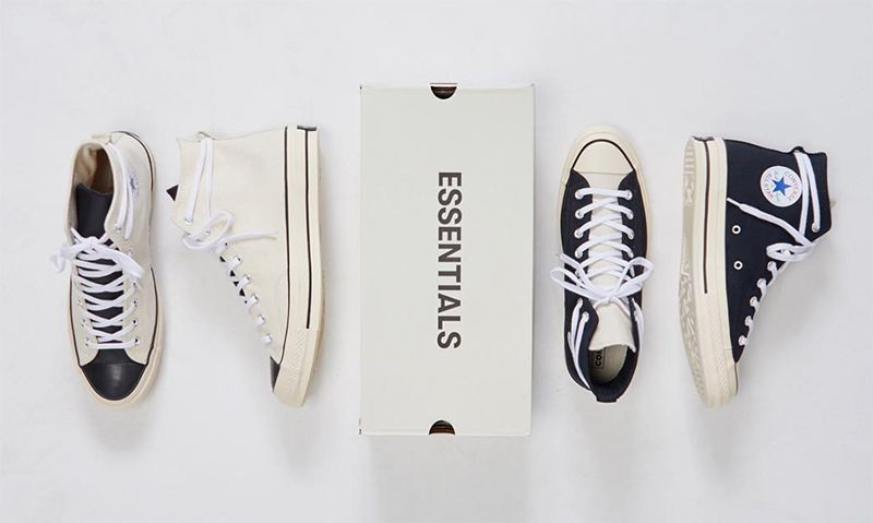 Fear of God ESSENTIALS x Converse Chuck Taylor: Release Info