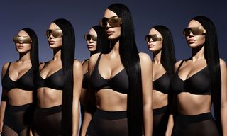 Kim Kardashian Drops Super-Affordable Carolina Lemke Sunglasses Collection