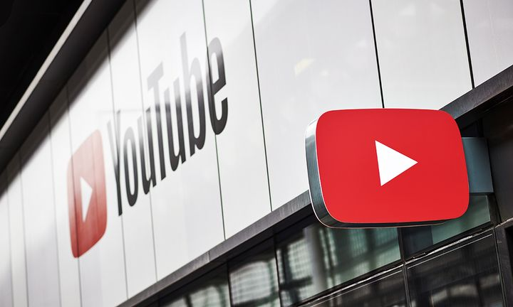 YouTube sign