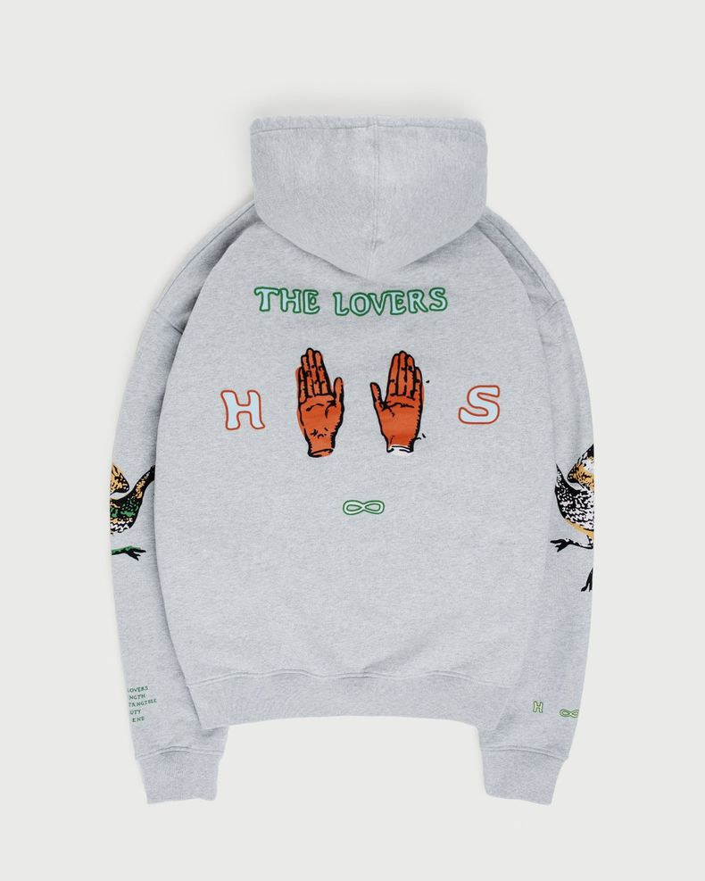Inner Life by Highsnobiety - The Lovers Hoodie Grey