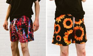 Raised by Wolves & Bather Hit the Surf With Floral Summer Swim Shorts