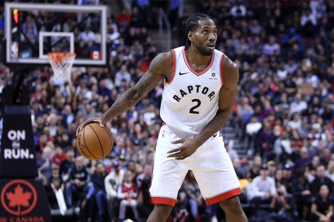 Kawhi Leonard Signs Endorsement Deal With New Balance