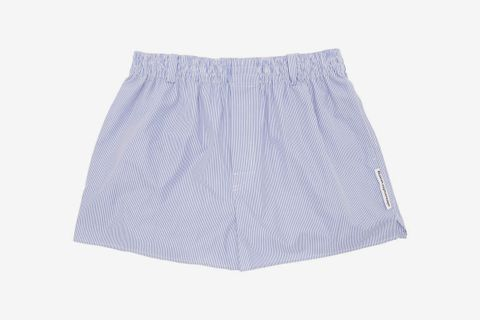 Striped Shirting Boxer Shorts