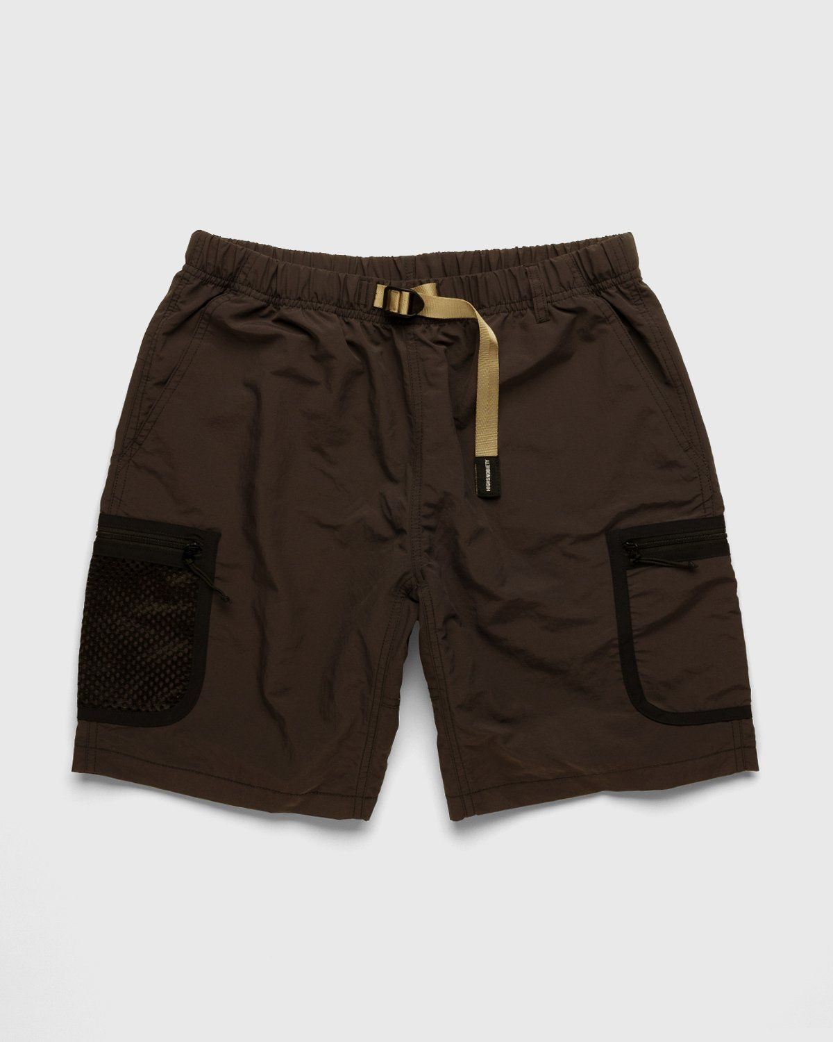 Gramicci for Highsnobiety – Shorts Brown - Image 1