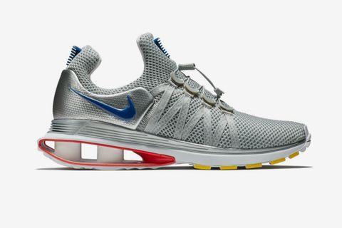 Nike Shox Gravity Metallic Silver