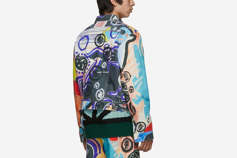 Denim Art Jacket