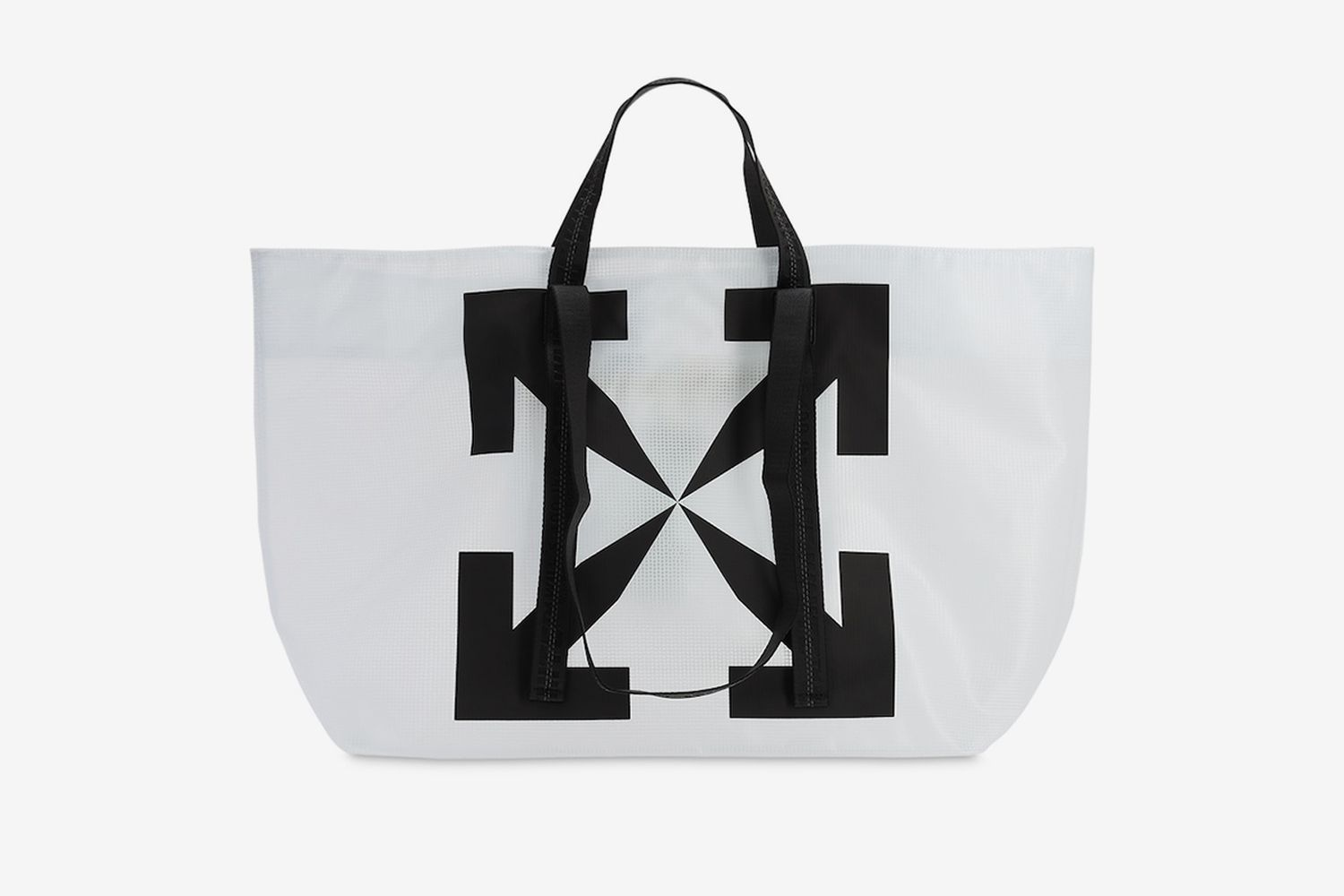 Printed Arrows Pvc Tote Bag