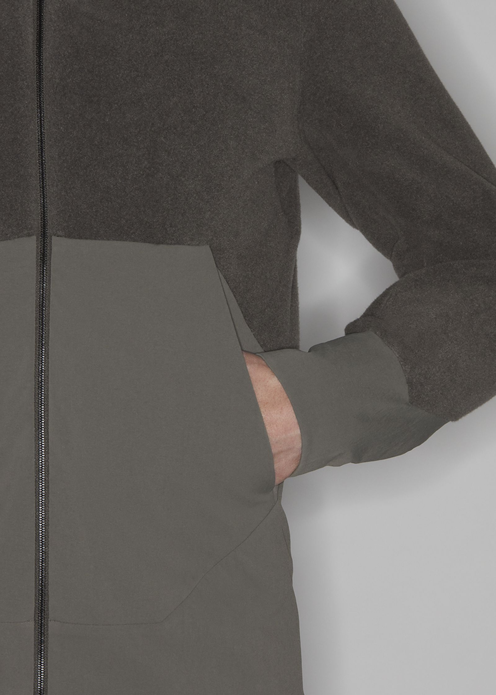 Veilance Dinitz Comp Jacket green