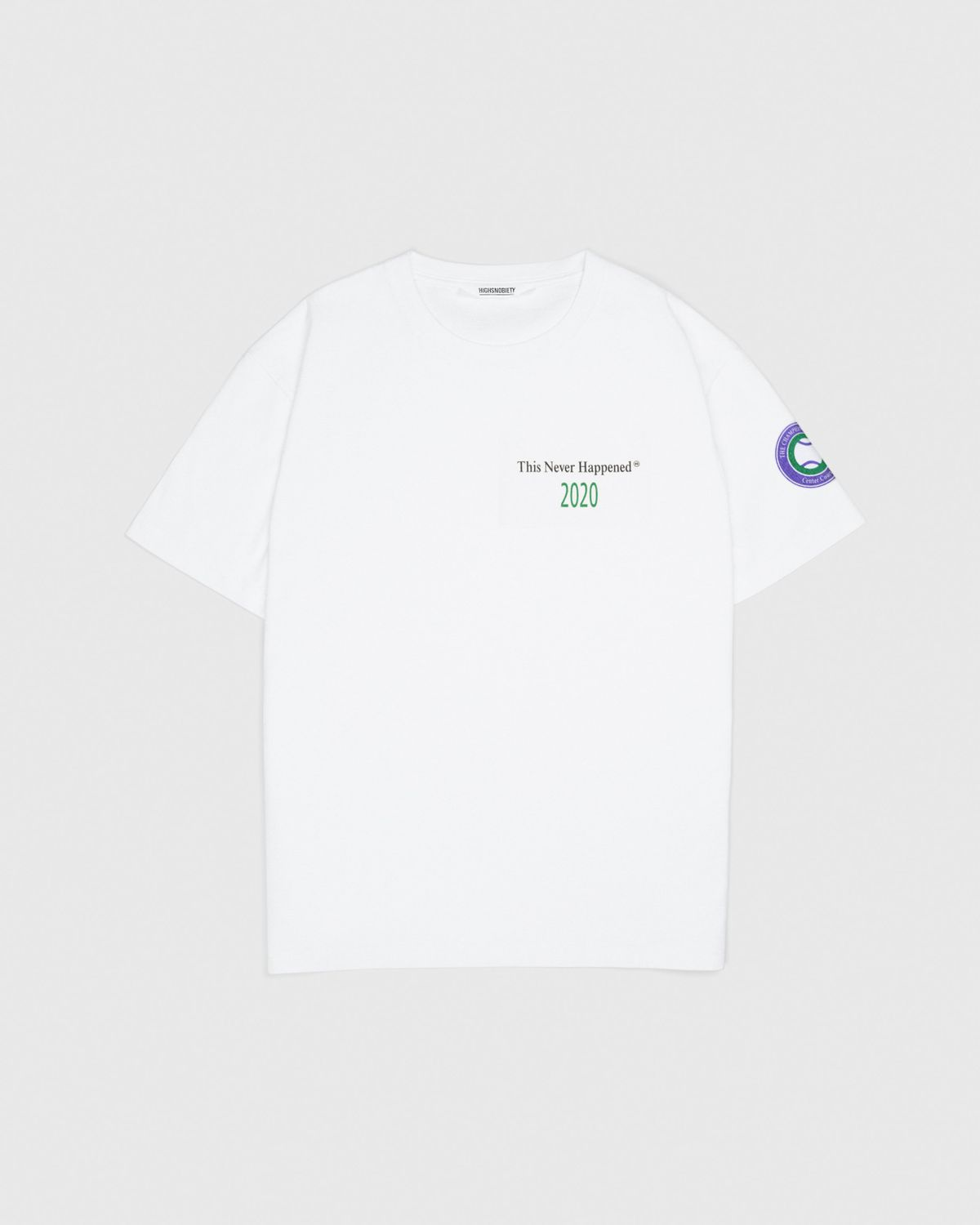 This Never Happened - Tennis Tournament T-Shirt White - Image 2