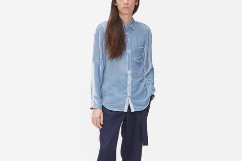 Sander Fluid Corduroy Shirt