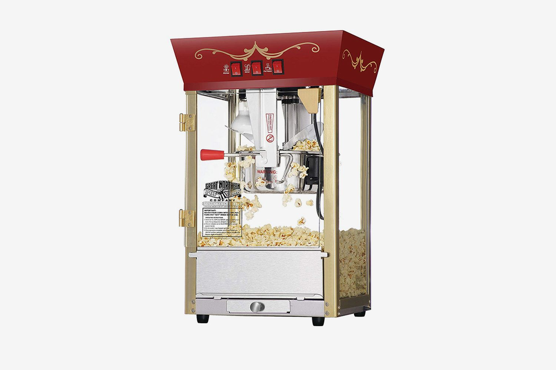 Antique Popcorn Machine