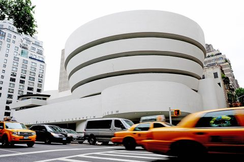 frank lloyd wright buildings unesco world heritage sites Solomon R. Guggenheim Museum