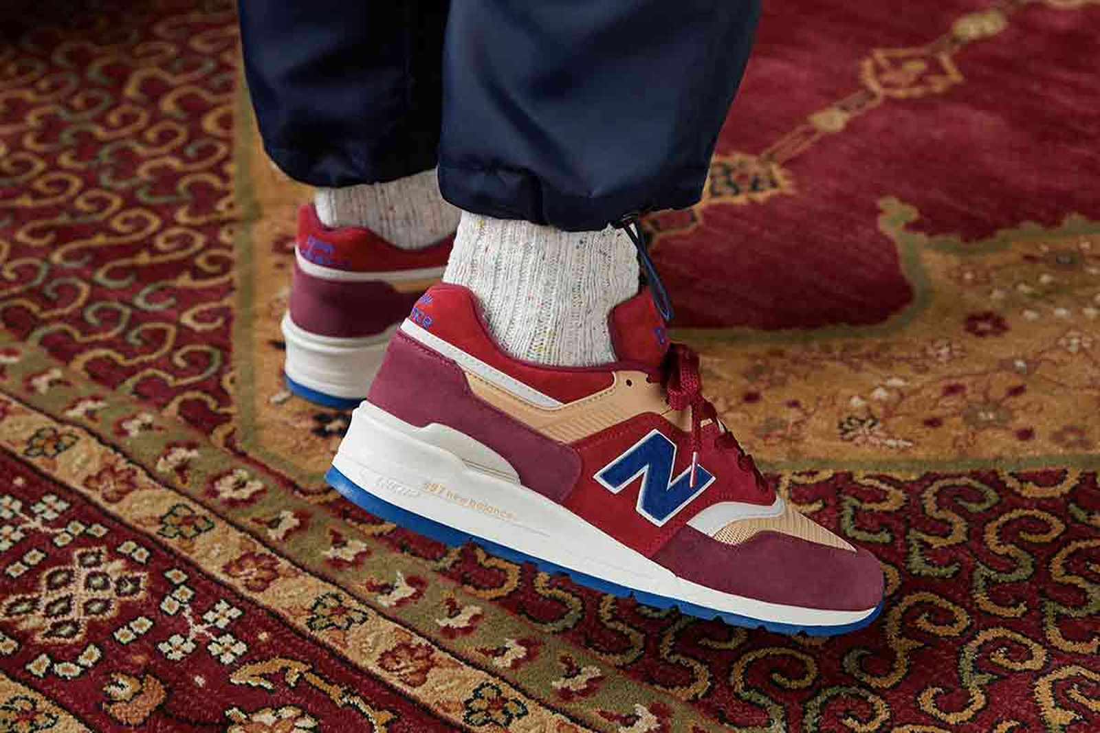 END. x New Balance M997END - Made in USA 'Persian Rug'.
