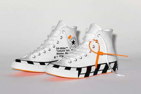 Main (77) OFF-WHITE x Converse Chuck 70 StockX
