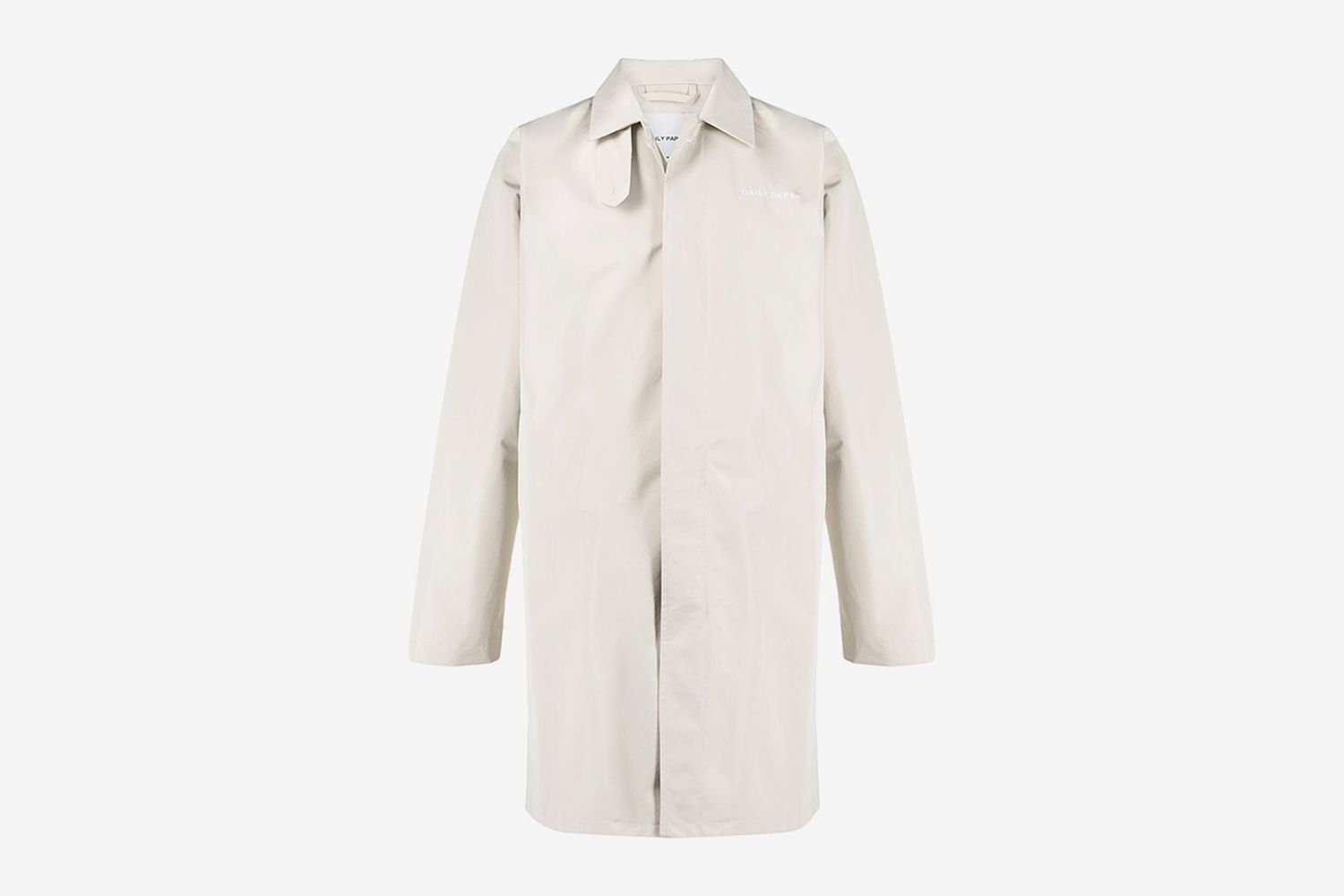 Concealed Fastening Trench Coat