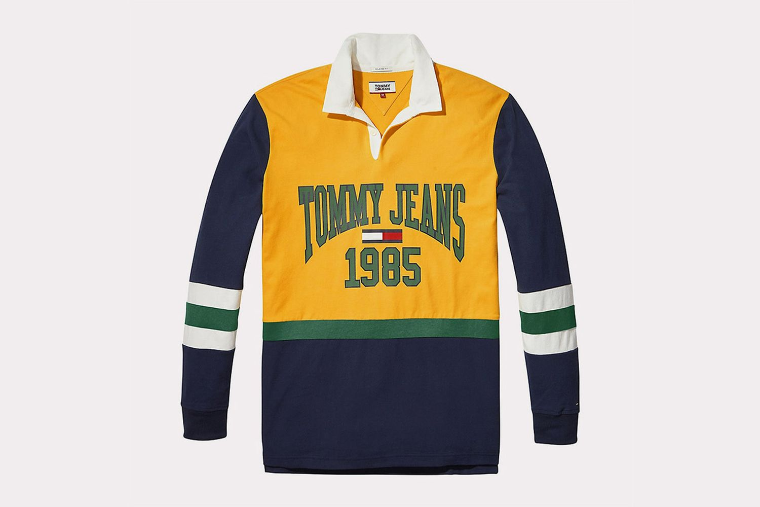 Retro-Inspired Rugby Shirt
