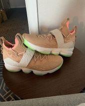 reputable site f1ed6 94756 LeBron James Spotted Wearing Nike Air Yeezy-Inspired LeBron 15