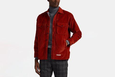 Cotton Corduroy Overshirt