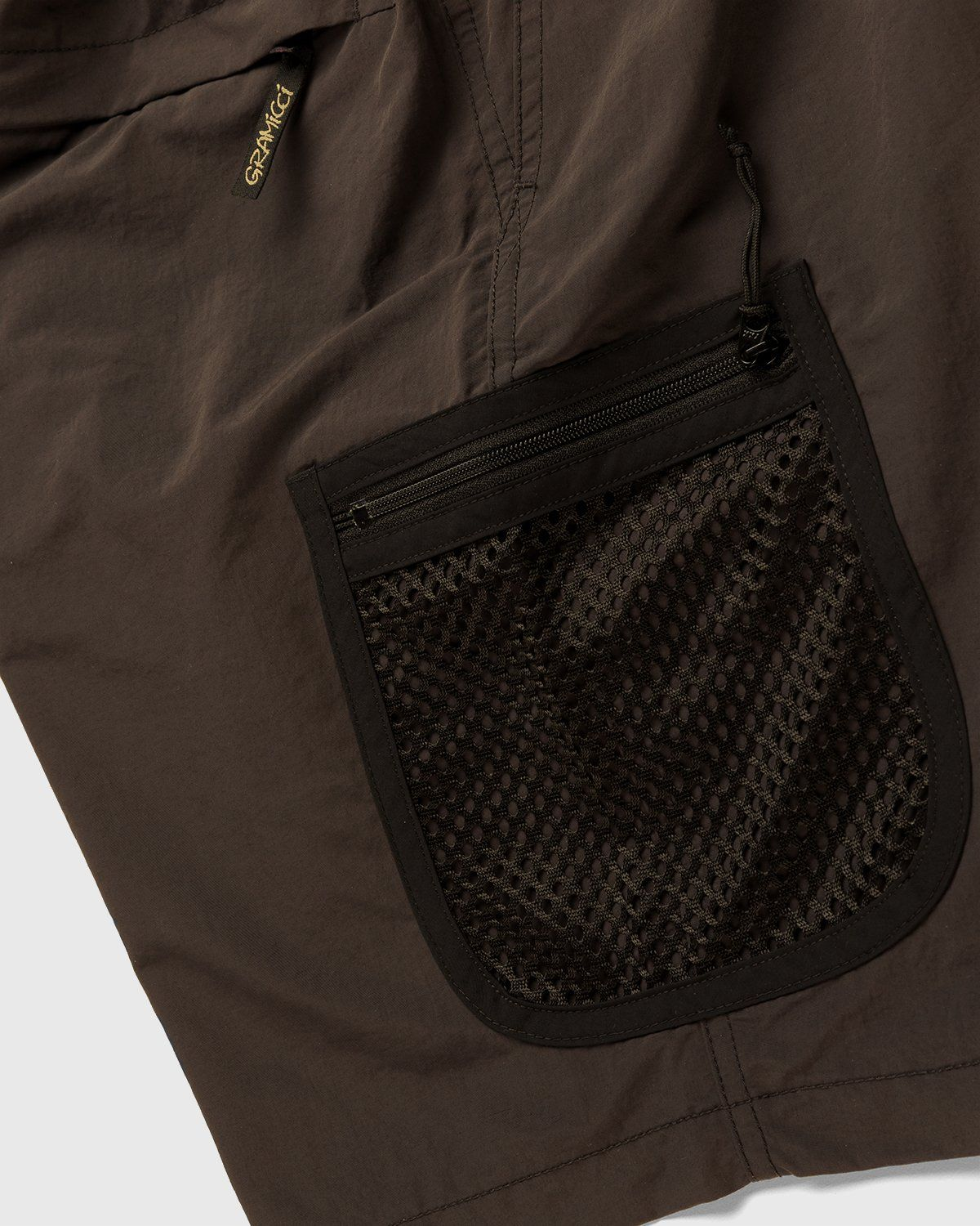 Gramicci for Highsnobiety – Shorts Brown - Image 5